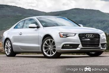Insurance quote for Audi A5 in Louisville