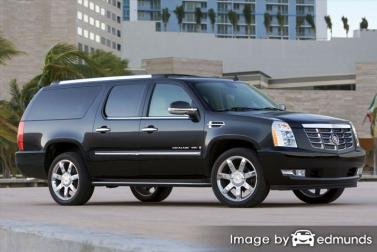 Insurance rates Cadillac Escalade ESV in Louisville