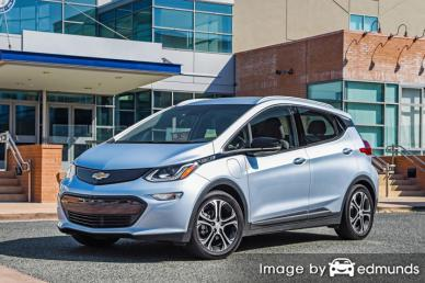 Insurance quote for Chevy Bolt EV in Louisville