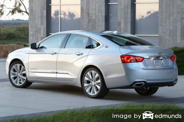 Insurance rates Chevy Impala in Louisville