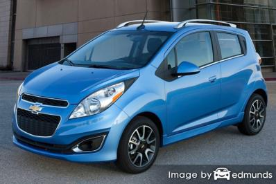 Insurance rates Chevy Spark in Louisville