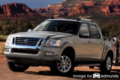 Insurance quote for Ford Explorer Sport Trac in Louisville