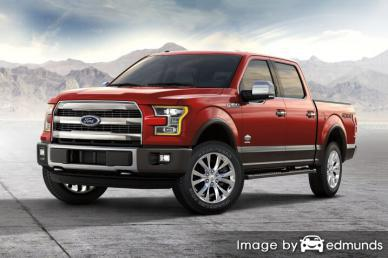 Discount Ford F-150 insurance