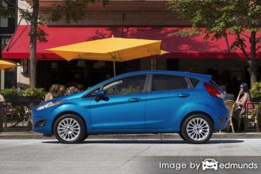 Insurance quote for Ford Fiesta in Louisville