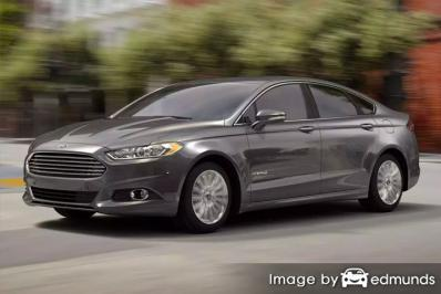 Insurance quote for Ford Fusion Hybrid in Louisville