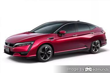 Insurance rates Honda Clarity in Louisville