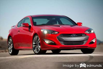 Insurance quote for Hyundai Genesis in Louisville
