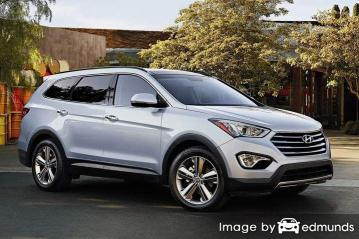 Insurance quote for Hyundai Santa Fe in Louisville
