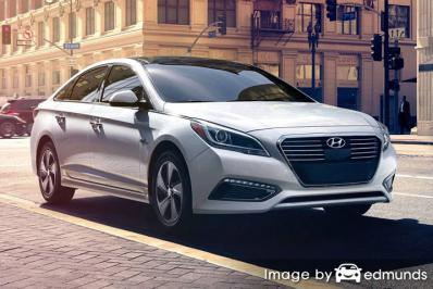 Insurance rates Hyundai Sonata Hybrid in Louisville