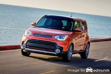 Insurance rates Kia Soul in Louisville