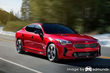 Insurance quote for Kia Stinger in Louisville
