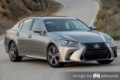 Discount Lexus GS 200t insurance
