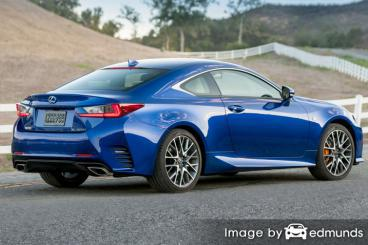 Insurance rates Lexus RC 200t in Louisville