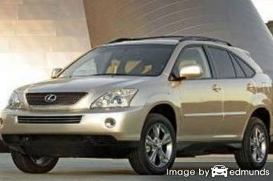 Insurance rates Lexus RX 400h in Louisville