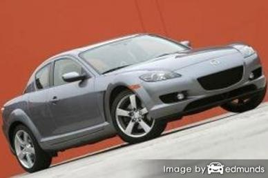 Insurance quote for Mazda RX-8 in Louisville