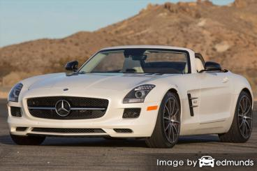 Insurance rates Mercedes-Benz SLS AMG in Louisville