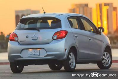 Insurance rates Mitsubishi Mirage in Louisville