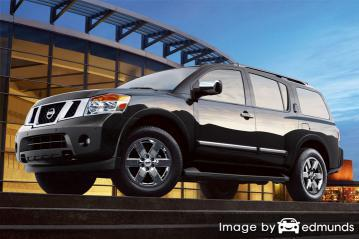 Insurance rates Nissan Armada in Louisville
