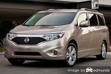 Insurance rates Nissan Quest in Louisville
