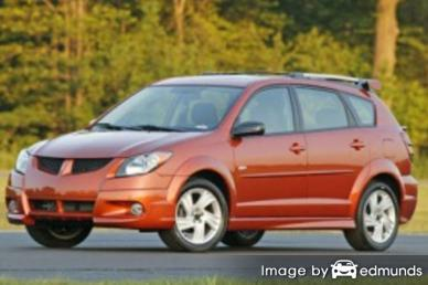 Insurance quote for Pontiac Vibe in Louisville