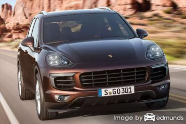 Insurance quote for Porsche Cayenne in Louisville