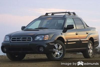 Insurance quote for Subaru Baja in Louisville