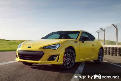Insurance quote for Subaru BRZ in Louisville