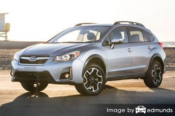 Insurance for Subaru Crosstrek