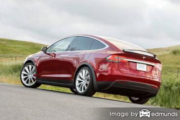 Insurance quote for Tesla Model X in Louisville