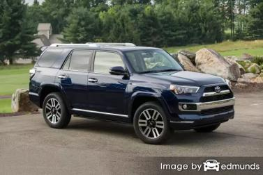 Discount Toyota 4Runner insurance