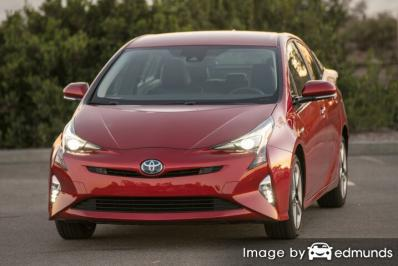 Insurance rates Toyota Prius in Louisville