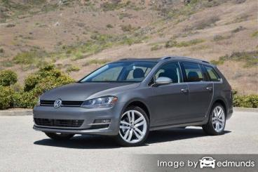 Insurance quote for Volkswagen Golf SportWagen in Louisville